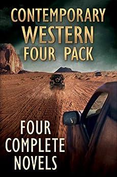 Contemporary Western Four-Pack by [Jim Sanderson, Leo W. Banks, Phillip Thompson, Robert E. Dunn]