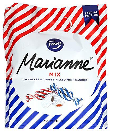Fazer - Marianne Mix Minzbonbons gefüllt mit Schokolade und Toffee - 350g