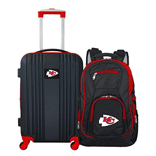Denco NFL Kansas City Chiefs 2-teiliges Gepäckset