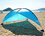 Oileus Super Big Canopy Tent with Sand Bags - Easy up Beach Tent Sun Shelter and Lightweight Sun Shade