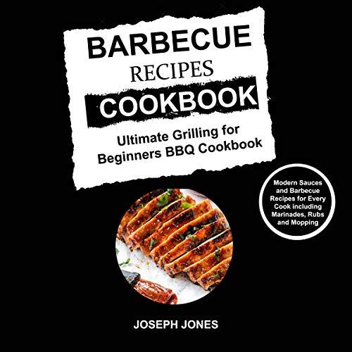 Barbecue Recipes Cookbook audiobook cover art