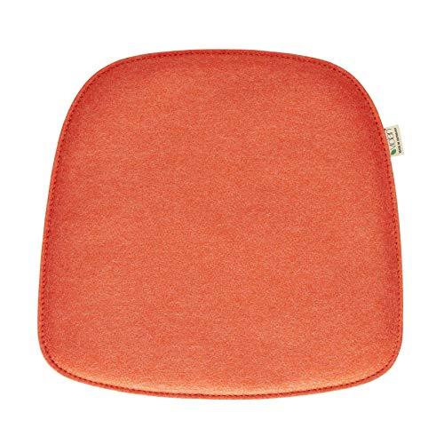 Metz Textil+Design Violan Sitzkissen für About A Chair AAC22 40 x 39 cm - orange