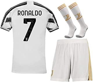 COOLBOY Herren Breathe Trikot Set 2019-2020 Ronaldo 7# Fußball Jersey & Shorts