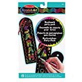 Melissa & Doug | Bookmark Scratch Art Party Pack | Arts & Crafts | Scratch Art | 3+ | Gift for Boy or Girl -