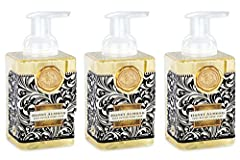 3-PACK of foaming hand soap that gets hands extra clean and provides cost-savings; reduces waste, each pump creates luxurious lather Each of the 3 bottles included is 17.8-Ounces of shea butter and aloe vera that gently cleanses and moisturizes, leav...