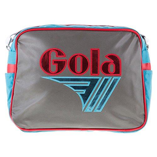 Gola CUB096, Portefeuille fille - Multicolore - Charcoal/Rose/Blue, Taille unique