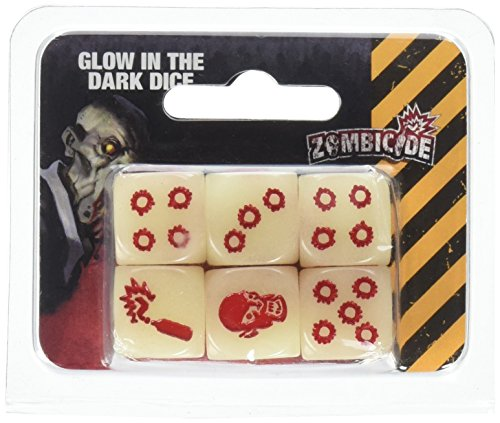 Zombicide Glow in the Dark Dice