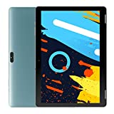 Tablet 10 inch, Android 9.0, Quad-Core Processor, MediaTek MT8167, 32GB Storage, Expandable up to 128GB TF Card, HD IPS Display, WiFi Bluetooth GPS, WinTab, Blue