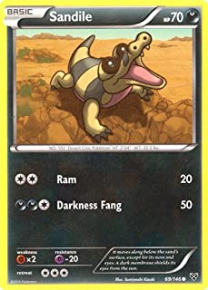 Pokemon - Sandile (69/146) - XY