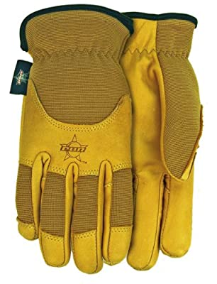 Midwest Gloves and Gear Smooth Grain Cowhide Gloves