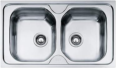 Teka cucina in acciaio inox lavello//vasca da incasso lavandino con superficie di scolo UNIVERSO 1/C 1E CN Mat