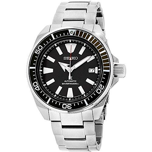 Relógio de mergulho automático Seiko Prospex Samurai de aço inoxidável 200 metros SRPB51
