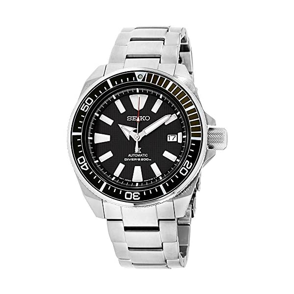 Fashion Shopping Seiko Prospex Samurai Stainless Steel Automatic Dive Watch 200