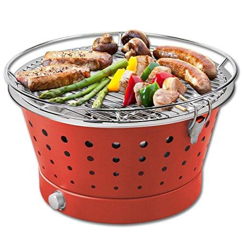 Fuerte barbacoa de carbón Fun-BBQ Rojo