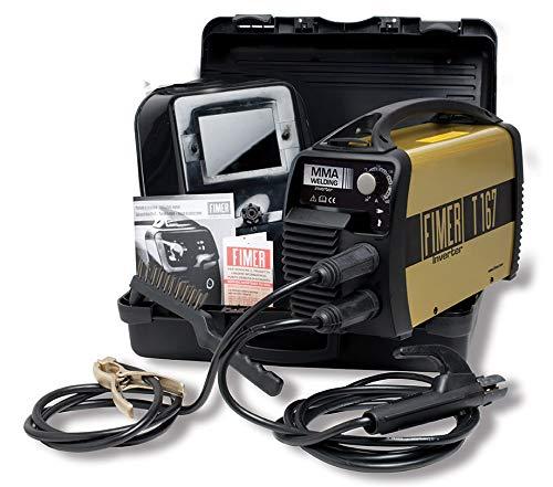 FIMER T167 GEN Saldatrice inverter 160A 230V elettrodo MMA TIG con kit...