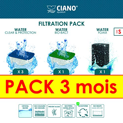CIANO Aquarium CONSUMABLES - Pack 3 Months S