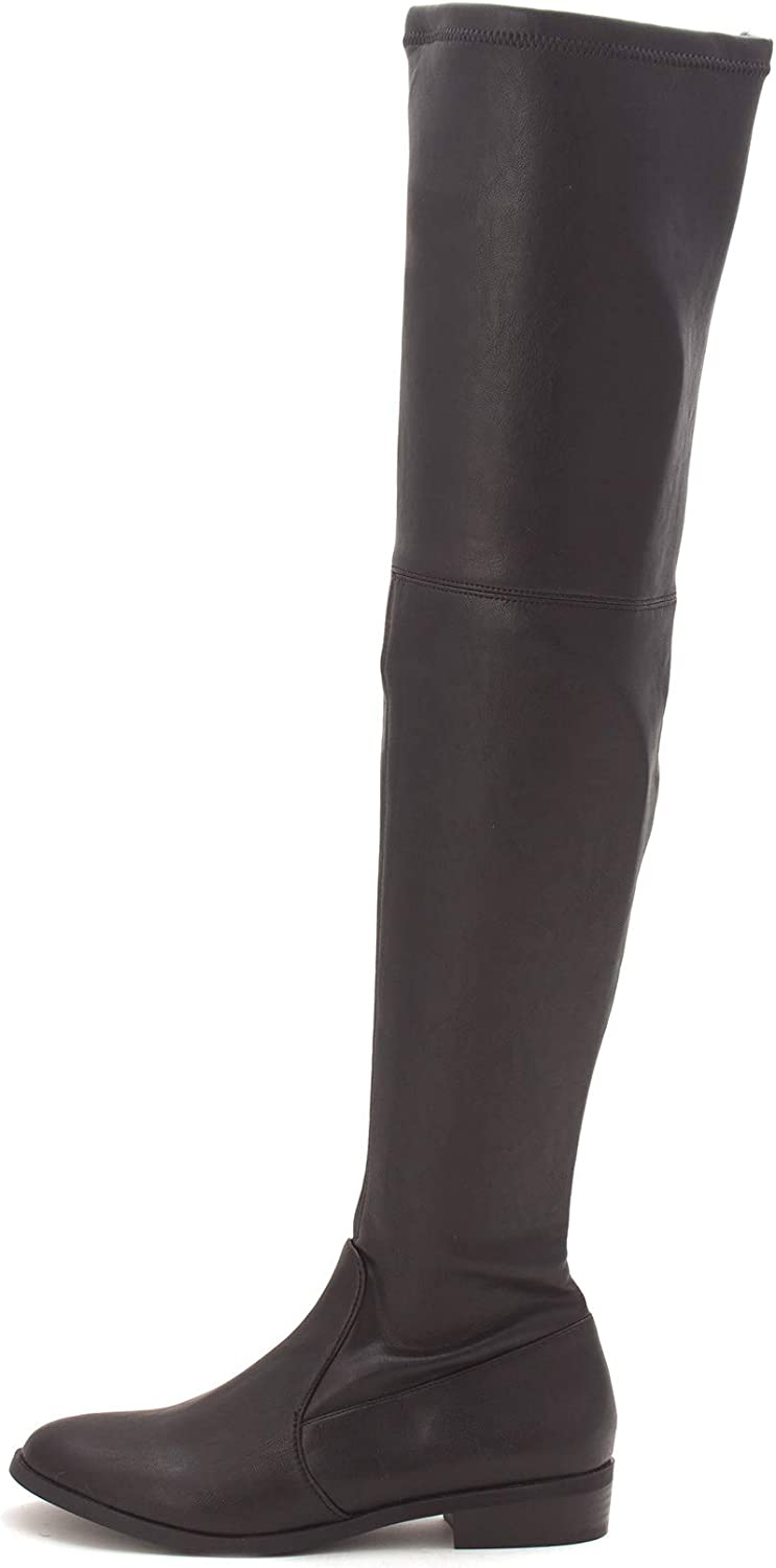 INC International Concepts Womens Irinaap Closed Toe Knee High Cowboy Boots