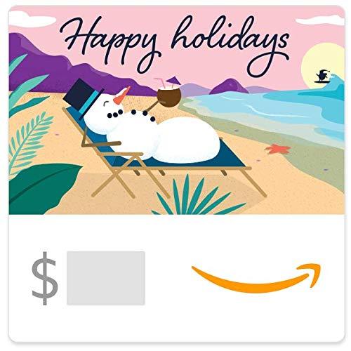 Amazon eGift Card - Snowman Holidays