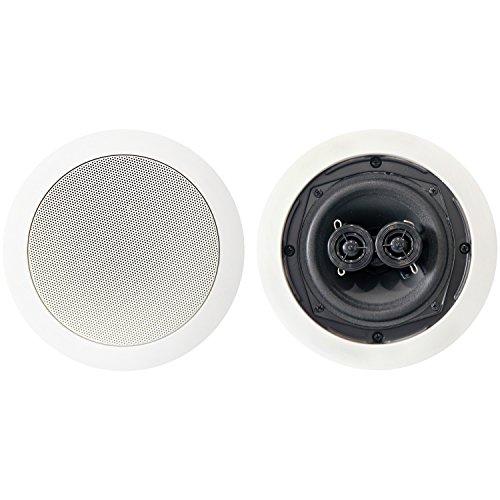 "BIC America MSR5D 75-Watt 5.25"" Dual Voice-Coil Stereo in-Ceiling Speaker"