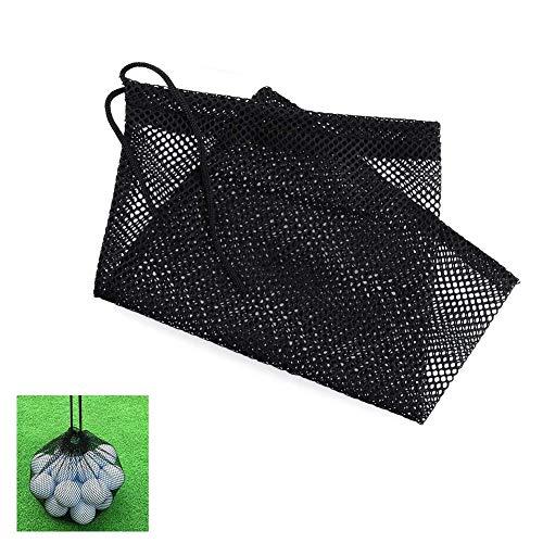 Yalatan Golf-Tennisball-Halter, Nylon-Netztasche-Beutel des Sport-im Freien, Golfball-Speicher-Haken-Trainingshilfe-Beutel