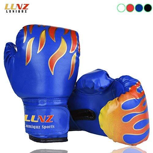Kinder Boxhandschuhe, für Sparring, 170 g, für 3 - 10Jahre, blau