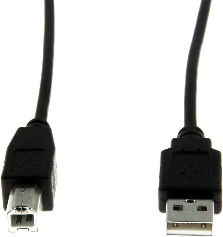 Rocstor Y10C115-B1 Premium High Speed USB 2.0-10 ft. USB Cable - 4 pin USB Type A (M) - 4 pin USB Type B (M) - Type A Male - Type B Male – for Printers, scanners, Black
