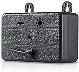 ZINE Dispositivo de control antiladrido, disuasivo ultrasónico de ladridos de perro, mini dispositivo de control de corteza mejorado hasta 50 pies de alcance