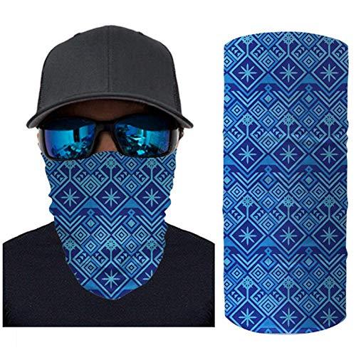 Slangsjaal van microvezel nekwarmer halsdoek motorsjaal voor mannen, multifunctioneel. Sjaal, muts, nekwarmer, capuchon, bivakmuts met binnenfleece 2 stuks