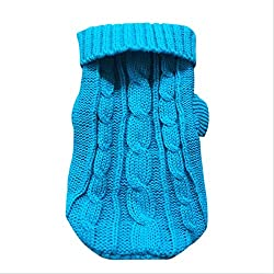 100% brand new, high quality. It is not only cute but also warm and comfortable. Keep the dog warm during the cold winter. Soft material for a comfortable fit. Easy to clean
