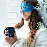 Zoom IMG-1 navaris 2x mascherina refrigerante occhi