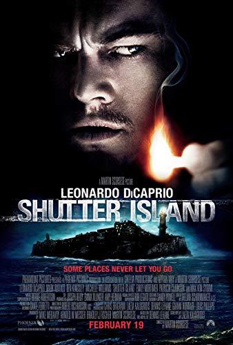 Christ-EZ Shutter Island Wall Movie Poster - Matte poster Frameless Gift 11 x 17 inch(28cm x 43cm)