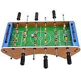 Tabla de Futbolín Clásico Deporte Fútbol Patada Familiar Juguete Interactivo Duradero 50.5 x 25 x 5.5 cm Montaje Sencillo Juego de Mesa