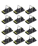 COSCOV Mouse Trap 12 Pack Mice Traps That Works Small Mouse Snap Trap Mouse Catcher