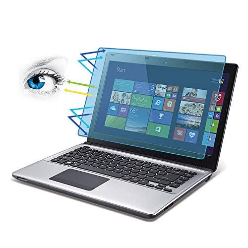 [BUBBLE FREE] Anti-Blaulichtfilter und Displayschutz | Blendschutzfolie Augenschutz Displayschutzfolie für LED Bildschirme 15.6 Zoll Laptop