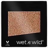 Wet n Wild - Color Icon Glitter Eyeshadow Single - Sombra de Ojos Brillante con una Fórmula Hidratante y Textura Sedosa, Glitter Maquillaje Profesional - Vegan - Color Ámbar Cálido