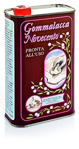 Cera Novecento C831 Vernice Gommalacca Chiara, Neutro, 250 ml
