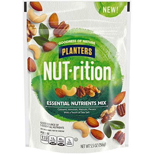 Planters NUT-rition Essential Nutrients Mix, 5.5 oz Bag Now $2.55 (Retail $4.99)