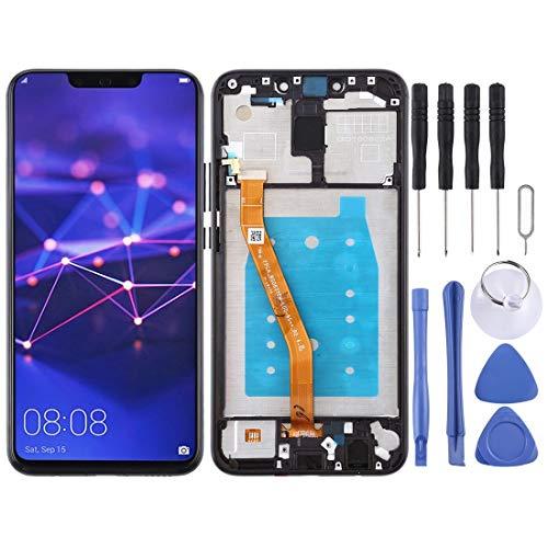 Consumer Electronics LCD-scherm LCD-scherm en Digitizer Volledige Vergadering met Frame for Huawei Mate 20 Lite/Maimang 7 (zwart) Reparatie Onderdelen (Color : Black)