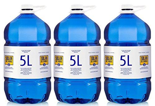 Solán de Cabras - Agua Mineral Natural 5 L - [Pack 3]