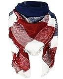 heekpek Mujer clásica Inglaterra Chal Cachemira Otoño Tartán Lana Bufandas Neckerchief Largo Scarves Scarf pañuelo en cabeza Bufandas estolas y fulares gorro y bufanda Shawls