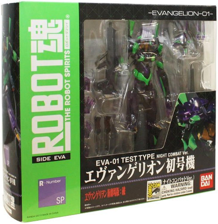 Neon Genesis Evangelion Robot Spirits SDCC 2010 Exclusive EVA01 Test Type Night Combat Ver.