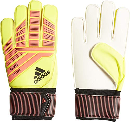 adidas Predator Replique Torwarthandschuhe, Solar Yellow/Solar Red/Black, 9
