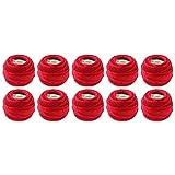 DMC Pearl Coton Balles, taille 8, Noël, rouge