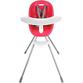 Phil&Teds Chaise Haute Poppy Rouge