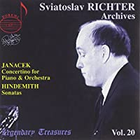 Janacek: Cocertino for Piano & Orchestra/Hindemith: Sonatas (Richter Archives)