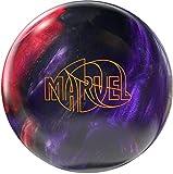 Storm Marvel Pearl Bowling Ball, Silver/Purple/Maroon, 15 lb