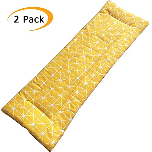 Ezoon 2 Pack Portable Travel/Camping/Dining Pad,2cm Thickness Hammock Mat Terrace Cushion,Garden Swing Bench Cushion Indoor Outdoor Replacement Mattress
