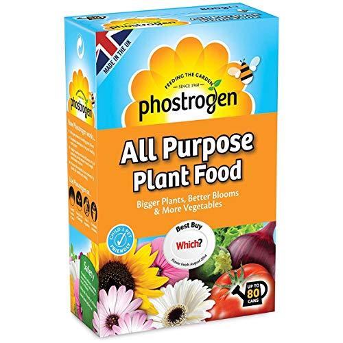 Bargainstore Phostrogen All Purpose Plant Food 80 Can Soluble Feed Fertiliser 800g Fruit Veg Flower