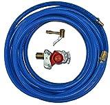 Testa della frizione rossa con tubo ad aria compressa, 10 m/20 m o 30 m, collegamento officina camion (tubo 10 m)