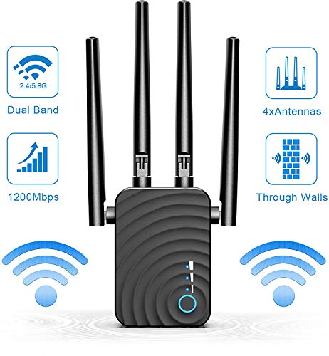 Imagen de Repetidor WiFi 1200Mbps Amplificador